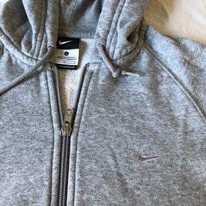 Nike Tops - Nike Hoodie Gray size Large